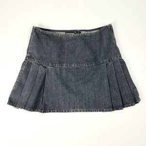 DKNY Jeans Mini Denim Blue Jean Skirt 10